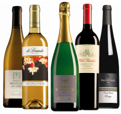 Wijnpakket Brasserie 1560 Kerstwijnen Goud