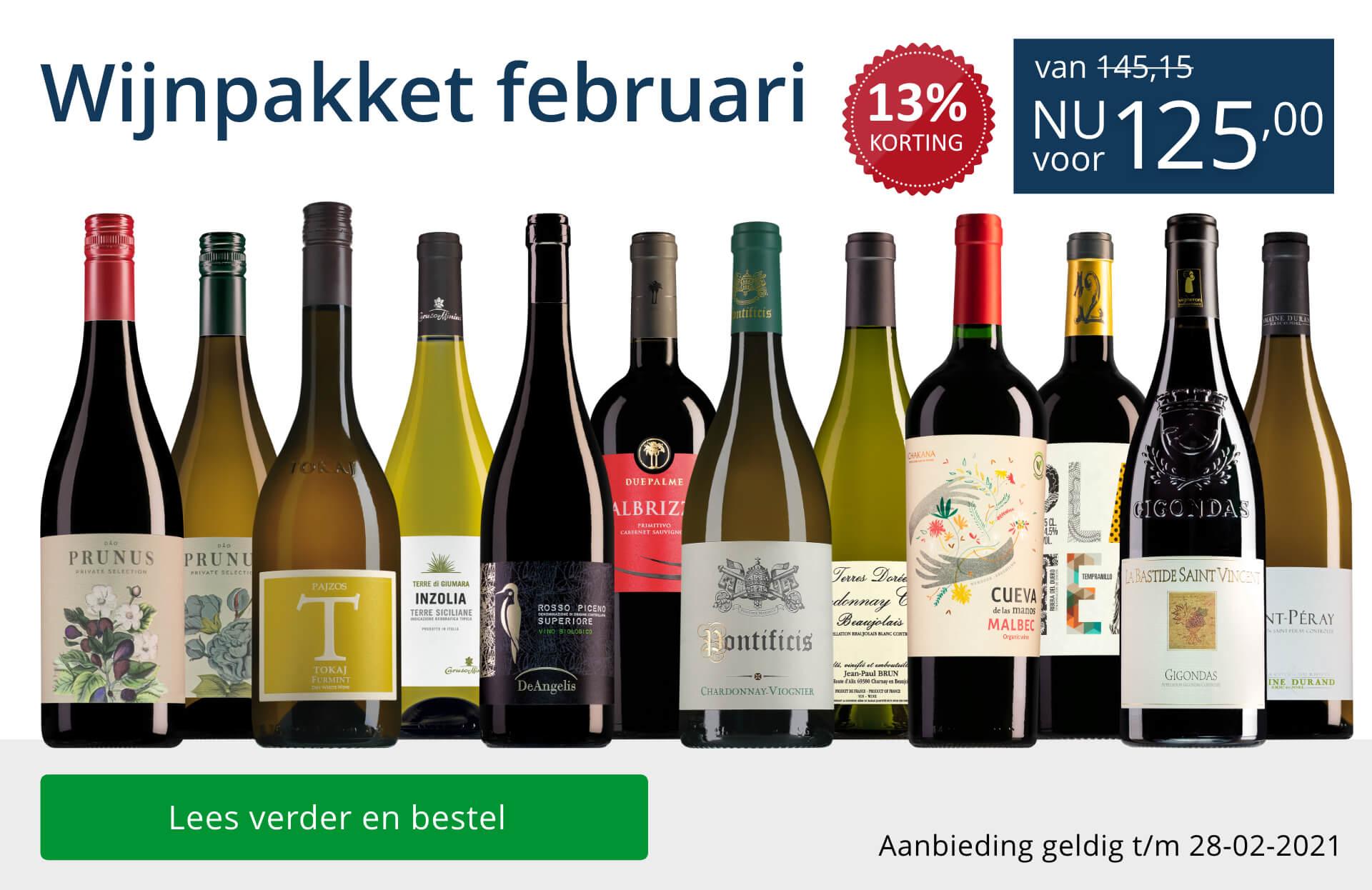 Wijn bestellen in onze webshop